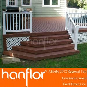 Compuesto ranurado de madera tabla de la plataforma