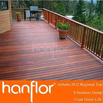 Verrouillage bois composite decking