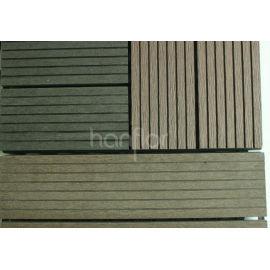 Antideslizante exterior WPC DIY azulejos