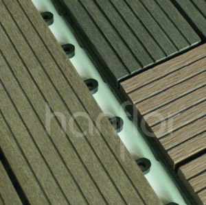 Respetuoso del medio ambiente exterior wpc decking