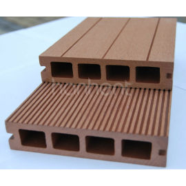 Compuesto plástico de madera ( WPC ) de suelo cubiertas