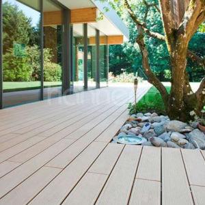 Durable y resistente al agua exterior wpc cubierta