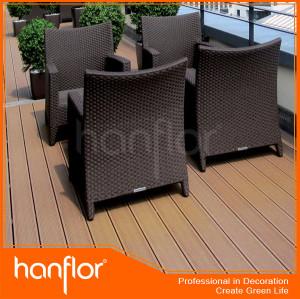 Wpc bricolaje cerámica para el patio, balcón, terrance, pasarela, boardway cubiertas, de la piscina