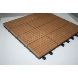 300 X 300 mm Popular WPC DIY azulejos de suelo