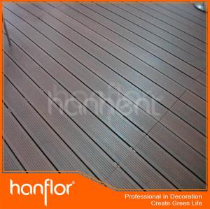 300 X 300 mm WPC suelo DIY azulejos