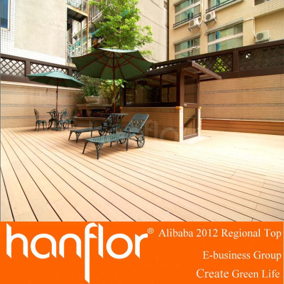 Wpc decking suelo