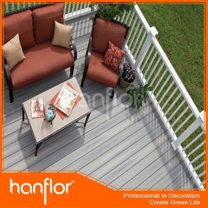 Precio de madera compuesto de terraza de la planta cubierta tablero -- WPC decking