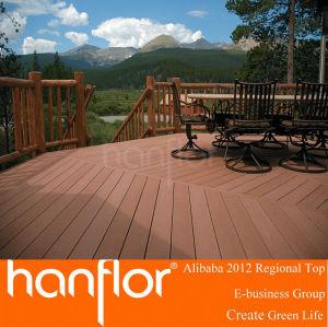 Caliente venta de europa estándar exterior de madera Plastic Composite WPC Decking