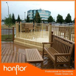 Wpc exterior handrailing