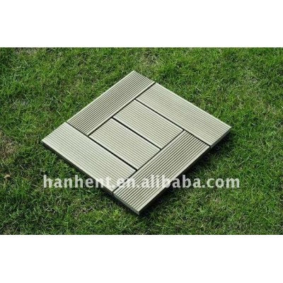 Diy WPC decking azulejo 310 X 310 X 22 mm