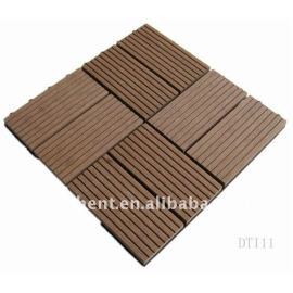 Exterior WPC decking azulejo 310 X 310 X 22 mm