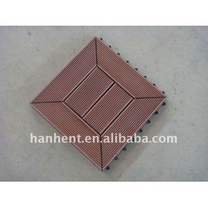 Diy WPC Decking azulejo para el jardín