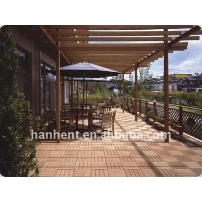 Bricolage WPC plancher de platelage pour terrasse
