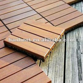 Anti UV portátil azulejos decking de