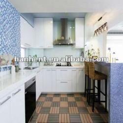 À prova d ' água interior wpc revestimento de azulejos