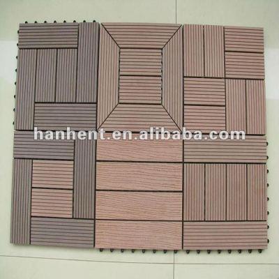 100% UV WPC DIY cubierta de azulejos