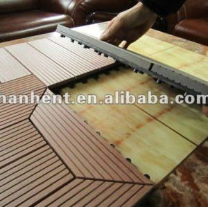 Wpc fabricante de suelo de madera de plástico