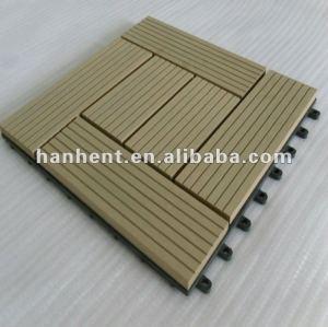 Material de madera anti - fuego wpc decking tablero