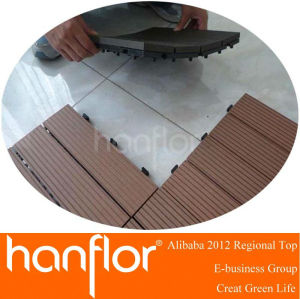 Solar wpc decking azulejo