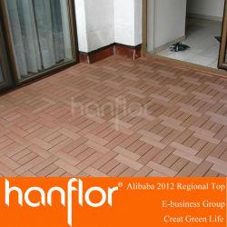 Verrouillage bois carreaux decking
