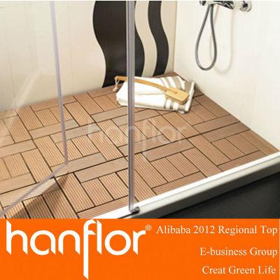 Salle de bains anti eau wpc platelage