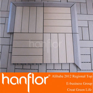 De fibra de madera de azulejos decking de