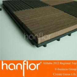 Bricolage WPC plancher de platelage / WPC plancher bricolage / WPC platelage carrelage de verrouillage 300 * 300 mm