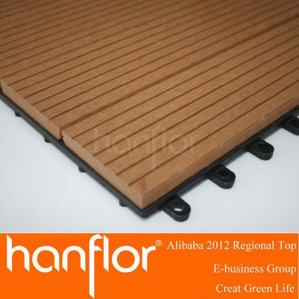 Wpc tile, Wood Plastic Composite decks / telha