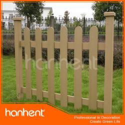 Composite bois plastique clôture