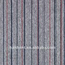 100% полипропилен turfted петля кучи ковровая плитка