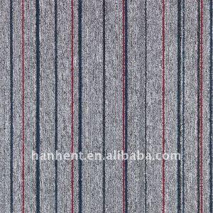 100% PP turfted pila de lazo azulejo de la alfombra de