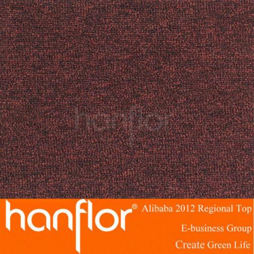 Tranquila bajo pie resistencia a la humedad de lujo último diseño vinilo azulejos de la alfombra