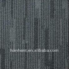 100% PP alto - baixo loop pile tile carpet com apoio PVC
