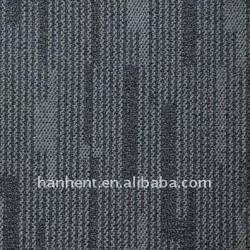100% PP haute - bas bouclée dalle de moquette avec support PVC