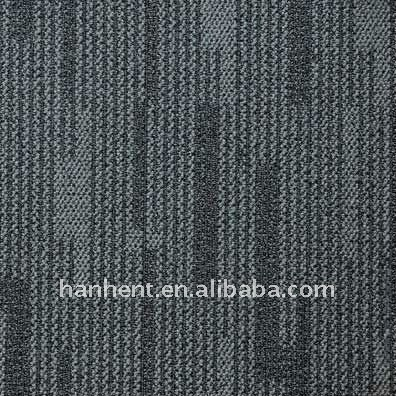 100% PP mayor a menor pila de lazo azulejo de la alfombra con forro del PVC