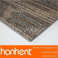 Confortable tapis en polypropylène avec un design moderne