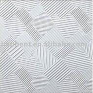 Pvc plaques de plâtre pour plafond