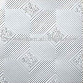 Populares PVC diseño placa de yeso para techo