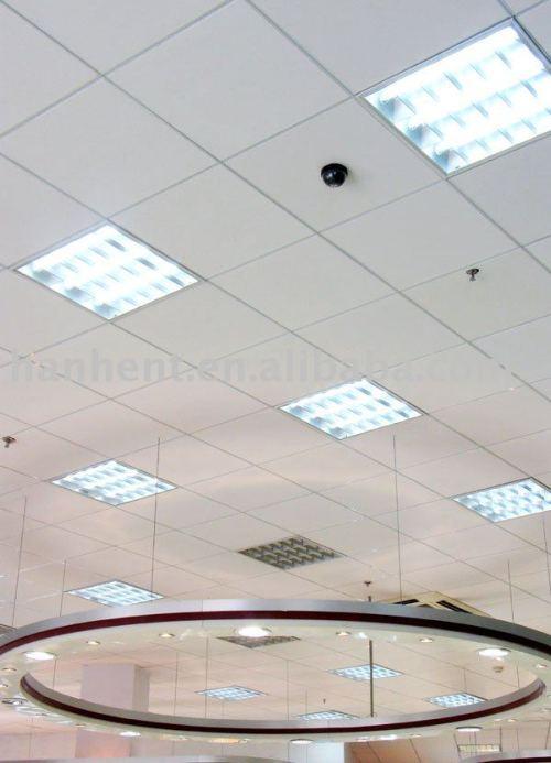 2015 PVC placa de yeso con papel de aluminio respaldo