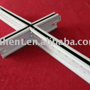 U groove principal tee t transversal ángulo de la pared de techo grids