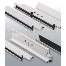 U sulco grade do teto de alumínio