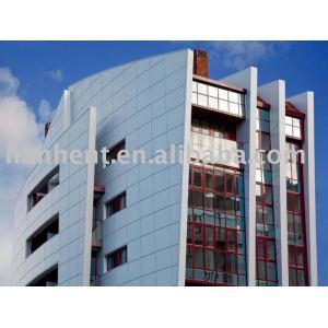 Compara panel compuesto de aluminio para la construcción de edificios