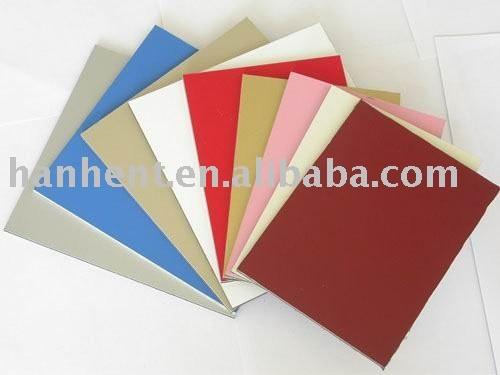 Pe / PVDF Panel compuesto de aluminio / ACP / ACM para la construcción / materiales de decoración