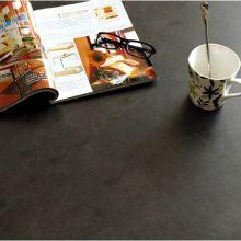 Черный камень дизайн пвх пол плитка
