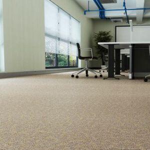 Uso de la oficina Easy clean alfombra del PVC azulejo