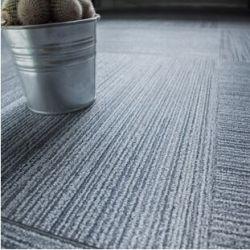 Telha de assoalho de PVC resistência à umidade tapete Easy clean