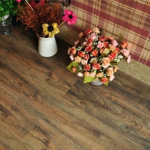 Hanflor pvc plank semi-matt wood embossed 6''*36'' multi-colors 3.0mm high stability shock-resistance