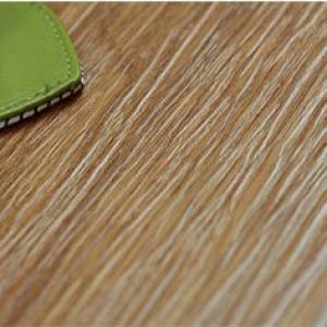 Hanflor plastic flooring matt wood embossed 6''*48'' sound absorption 3.0mm easy-clean anti-slip