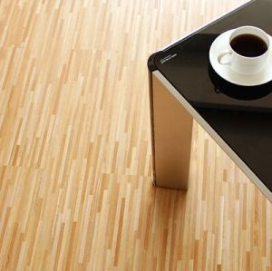 Inofensivo residencial fácil instalar suelo de PVC tablón