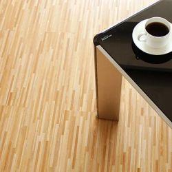 Inoffensif résidentiel facile installer revêtements de sol PVC planche